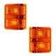 1AMLP00002-Ford Mirror Turn Signal Lens & Housing Pair