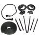 1AWSK00194-1969-70 Door  Convertible Top  and Trunk Weatherstrip Seal Kit