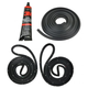 1AWSK00185-Door and Trunk Weatherstrip Seal Kit w/ Adhesive