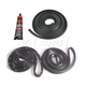 1AWSK00186-1964-65 Door and Trunk Weatherstrip Seal Kit w/ Adhesive