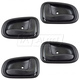1ADHS00482-1993-97 Geo Prizm Toyota Corolla Interior Door Handle Black