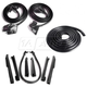 1AWSK00152-1969-72 Pontiac GTO LeMans Tempest Door  Convertible Top  and Trunk Weatherstrip Seal Kit