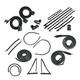 1AWSK00141-1967 Chevy Camaro Pontiac Firebird Complete Weatherstrip Seal Kit