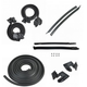 1AWSK00128-1969-72 Pontiac GTO LeMans Tempest Weatherstrip Seal Kit
