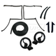 1AWSK00110-1982-92 Chevy Camaro Pontiac Firebird T-Top Weatherstrip Seal Kit