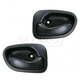 1ADHS00432-1995-99 Hyundai Accent Interior Door Handle Pair