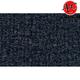 ZAICF00734-1988-91 Honda Civic Passenger Area Carpet 7130-Dark Blue