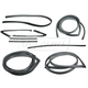 1AWSK00010-1967-70 Complete Weatherstrip Seal Kit