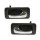 1ADHS00395-1990-93 Honda Accord Interior Door Handle Pair