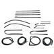 1AWSK00040-1967 Complete Weatherstrip Seal Kit
