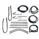 1AWSK00032-1967-70 Complete Weatherstrip Seal Kit