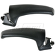 1ADHS00371-Dodge Interior Door Handle Front Pair Black