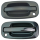 1ADHS00349-Exterior Door Handle Front Pair Gloss Black