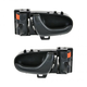 1ADHS00358-1992-94 Geo Metro Suzuki Swift Interior Door Handle Pair