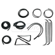 1AWSK00072-1967-70 Ford Complete Weatherstrip Seal Kit