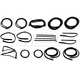 1AWSK00070-1977-79 Ford Complete Weatherstrip Seal Kit