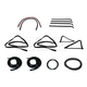 1AWSK00075-1980-86 Ford Complete Weatherstrip Seal Kit