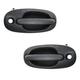 1ADHS00298-1996-00 Exterior Door Handle Front Pair