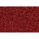 ZAICK19098-1983-86 Pontiac T1000 Complete Carpet 7039-Dark Red/Carmine