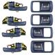 ZAICK15521-1966-73 Dodge Polara Complete Carpet 19-Fawn Sandalwood  Auto Custom Carpets 1083-230-1237000000