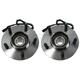 MCSHS00020-Ford Wheel Bearing & Hub Assembly Pair