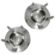 MCSHS00003-2007-10 Ford Edge Lincoln MKX Wheel Bearing & Hub Assembly Pair Rear Motorcraft HUB34