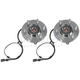 MCSHS00010-Wheel Bearing & Hub Assembly Pair Front Motorcraft HUB30