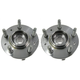 MCSHS00019-1999-03 Ford Windstar Wheel Bearing & Hub Assembly Front Pair  Motorcraft HUB78