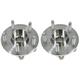 MCSHS00017-Wheel Bearing & Hub Assembly Rear Pair Motorcraft HUB36