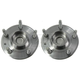 MCSHS00015-Wheel Bearing & Hub Assembly Rear Pair Motorcraft HUB38