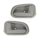 1ADHS00180-1993-97 Geo Prizm Toyota Corolla Interior Door Handle Pair