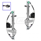 1AWRK00001-Jeep Grand Cherokee Window Regulator Front Pair
