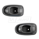 1ADHS00914-1996-00 Hyundai Elantra Interior Door Handle Pair