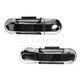 1ADHS00925-Exterior Door Handle Front Pair All Chrome