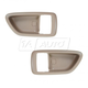 1ADHS00860-2000-04 Toyota Avalon Interior Door Handle Bezel Pair Ivory
