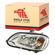 1ALHH00011-2002-13 Freightliner M2 Business Class Headlight Driver Side