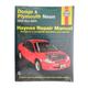 1AMNL00091-Dodge Neon Plymouth Neon Haynes Repair Manual