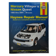 1AMNL00094-1993-01 Mercury Villager Nissan Quest Haynes Repair Manual