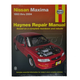 1AMNL00070-1993-04 Nissan Maxima Haynes Repair Manual