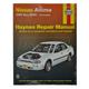 1AMNL00060-1993-04 Nissan Altima Haynes Repair Manual