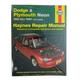 1AMNL00053-1995-99 Dodge Neon Plymouth Neon Haynes Repair Manual