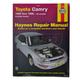 1AMNL00040-Toyota Avalon Camry Haynes Repair Manual