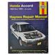 1AMNL00030-1990-93 Honda Accord Haynes Repair Manual