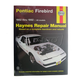 1AMNL00026-1982-92 Pontiac Firebird Haynes Repair Manual