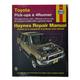 1AMNL00018-1979-95 Toyota 4Runner Pickup Haynes Repair Manual