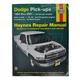 1AMNL00007-1994-01 Dodge Haynes Repair Manual