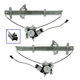1AWRK00099-Nissan Frontier Xterra Window Regulator Front Pair