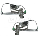 1AWRK00076-Cadillac Deville Window Regulator Front Pair
