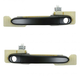 1ADHS00837-2006-11 Hyundai Accent Exterior Door Handle Front Pair
