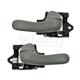 1ADHS00790-Buick Century Regal Interior Door Handle Pair Light Gray